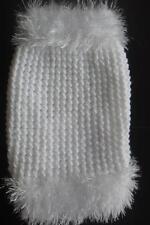 """HAND Knitted Cucciolo Cappotto-Maglione Tiny XXS piccolo 6"""" - Chihuahua TAZZA DA TE (luccicante)"""