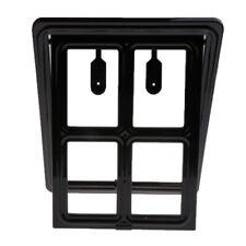 Lockable Puppy Screen Door Pet Flap Door 2-Way Pet Door with Lock, Magnet Design