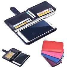 NEW 7 Tarjetas Soporte Cartera Funda Plegable de piel para Samsung Galaxy Note 3