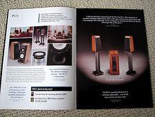 Thiel Lifestyle series speaker full line brochure