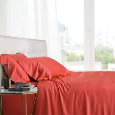 Queen Size Bed Sheet Set- 100% Bamboo Ultra Cool Soft 4PC Deep Pocket Sheets