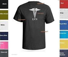 LVN Licensed Vocational Nurse T-Shirt Medical Service Shirt SZ S-5XL