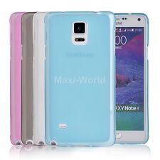 Slim Soft TPU Matte Case Cover Skin For Samsung Galaxy Note 4 IV