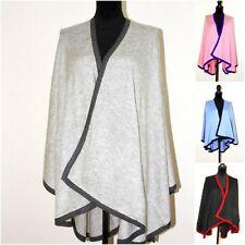 Cashmere poncho cashmere cape cardigan wrap femmes poncho voyage couverture  unique e1dd29793d0