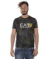 T-shirt Emporio Armani EA7 T-Shirt Sweatshirt % Uomo Verde 3ZPT66PJL8Z-2805