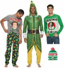 Elf Christmas Movie PJs T-Shirt Pants Sweater Hat - Men's S M L XL - New w/Tags!