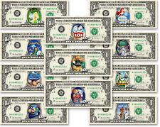 Disney Movies on a REAL Dollar Bill Cash Money Collectible Memorabilia Celebrity