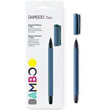 Wacom CS191B Bamboo Duo Ballpoint pen/Stylus pen Blue Ergonomics Design