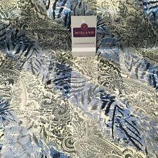Animal Paisley Printed Satin Striped Dress fabric 150cm Wide MA1049 Mtex