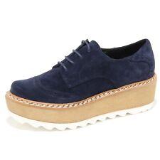 6281N scarpe LA CORDE BLANCHE COLA blu scarpe donna shoes women