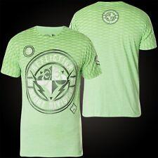 Affliction T-Shirt Fast Elite Grün