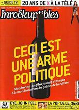 Les Inrockuptibles #466 - MONDOVINO - John Peel,...