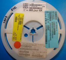 Yageo 0603 Resistor 82K Ohm, 5%, RC0603JR-0782K, 5000pcs