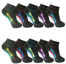 12-24 Paar modische Damen Mädchen Sneaker Socken Sport Füßlinge Baumwolle Bambus