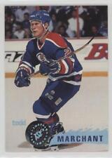 1995-96 Topps Stadium Club #102 Todd Marchant Edmonton Oilers Hockey Card