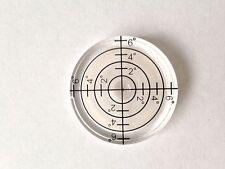 32 x10mm di diametro disco Livella a bolla rotonda CERCHIO CIRCOLARE Treppiede Bullseye