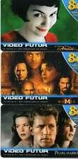 """VIDEO FUTUR 3 CARTES HORS SERIE """"8 euros""""  LUXE"""