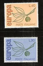 ITALY # 915-6 MNH EUROPA 1965
