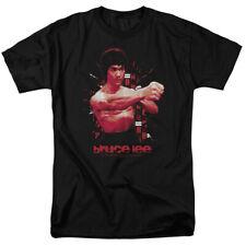 Bruce Lee The Shattering Fist Mens Short Sleeve Shirt BLACK