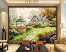 3D Casa Creek 666 Parete Murale Foto Carta da parati immagine sfondo muro stampa