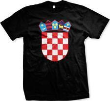 Croatia Coat of Arms Republika Hrvatska Croatian Pride Mens T-shirt