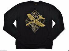 Benny Gold JON CONTINO GUEST GLIDER Black Gold Pullover Crew Men's Sweatshirt