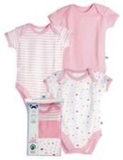 Organic PIP Baby Clothing Girl 3-pack SS NB,3,6,12,18,24m
