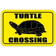 Plastic Sign Turtle Crossing