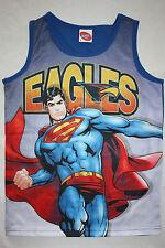 AFL West Coast Eagles Youth Kids Superman Sublimated singlet size 12