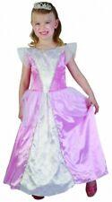 Rosa Vestido Princesa Fiesta De Disfraces Cumpleaños Play Real Belleza