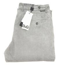 6865 pantalone D&G DOLCE&GABBANA grigio  pantaloni uomo trousers men