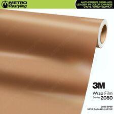 3M 2080 SP59 SATIN CARAMEL LUSTER Vinyl Vehicle Car Wrap Decal Film Sheet Roll