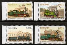 ROMANIA 2011 TRAINS  MNH