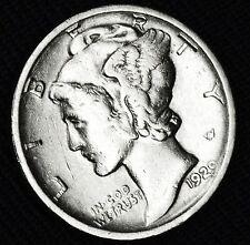 1929-d Mercury Dime.       Better Grade(Inv.A)