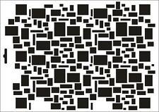 Wandschablone Maler T-shirt Schablone W-406 Quads ~ UMR Design