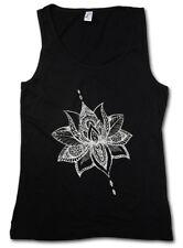 Tattoo Flower señora Tank Top Plant tatuador Studio Artist plants flor flores