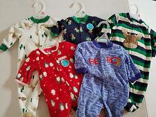 Child of Mine by Carter's  Fleece Sleep Wear One Piece  Set Size NB 0/3  NWT