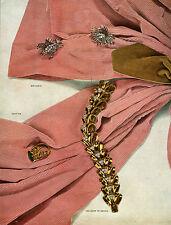 Publicité ancienne bijoux Van Cleef et Arpels 1948