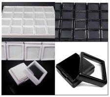 3x3cm Wholesale$ Gem Display Plastic Box Storage Container For Gemstones Diamond