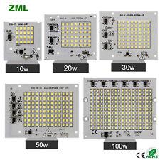 Led chip integrate 220v spotlight 10w 20w 30w 50w 100w floodlight smart IC light