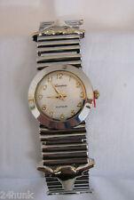 NEW Ladies GENEVA Longhorn Bracelet Watch, Gold/Silver