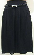 Minuet Black tailored short office Business Viscose skirt(NEW) Diff sizes £50.00
