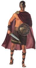 Adult Mens Spartan Warrior Cape And Wrap Greek Roman Soldier Halloween Costume