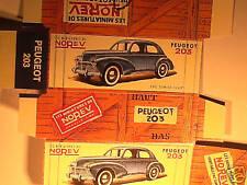 REFABRICATION BOITE PEUGEOT 203 1957/ NOREV 1958