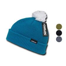 Cuglog Sailor Cuffed Pom Beanies Warm Winter Watch Knit Ski Caps Hats