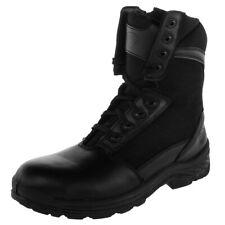 312ceed31db Knapp Mens Soft Toe Tactical BOOTS Side ZIPPER Black Leather K8865 4 ...
