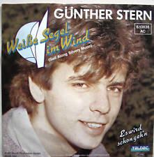 """7"""" 60s COVERVERSION! GÜNTHER STERN Weiße Segel im Wind"""
