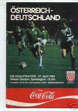 EM-Qualifikation 27.04.1983 Österreich - Deutschland