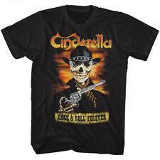 Cinderella Skelerella Black Adult T-Shirt