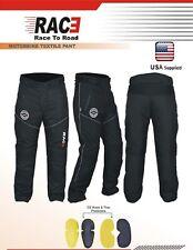 RAC3 Cordura Textile Waterproof CE Armored Motorbike Motorcycle Trousers Pants